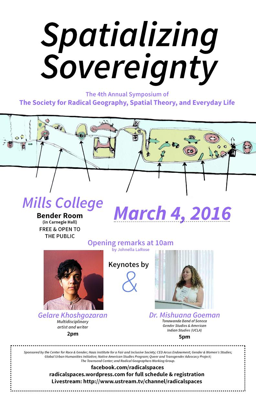 Spatializing Sovereignty flyer